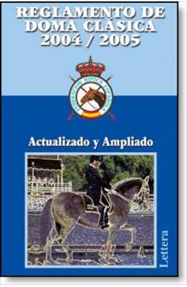 Reglamento de doma clásica 2004/2005