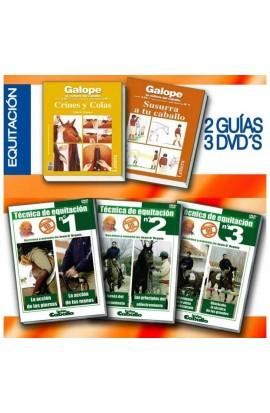 DVD + Libro Equitación
